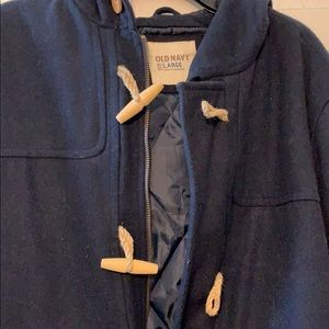 Old navy long coat for Man